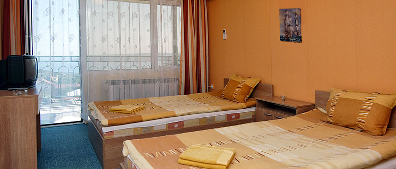 A double room in Antik complex Varna